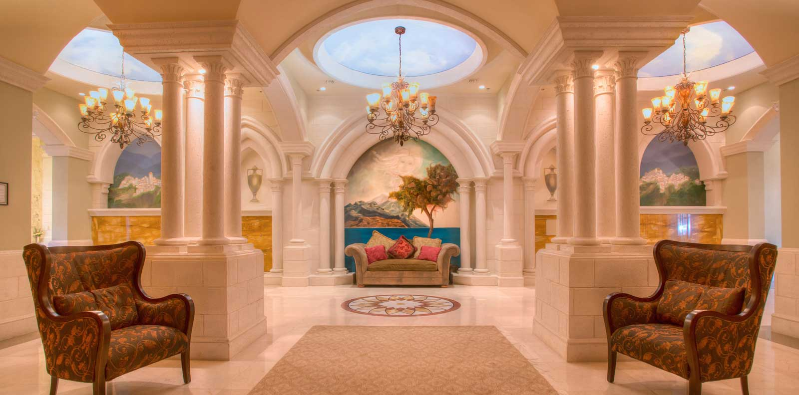 funeral home chapel interior