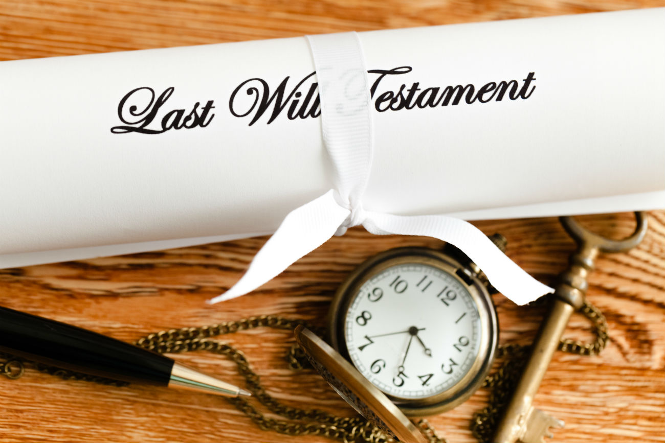 Make sure you have your Will prepared, and if events change, so should your will.