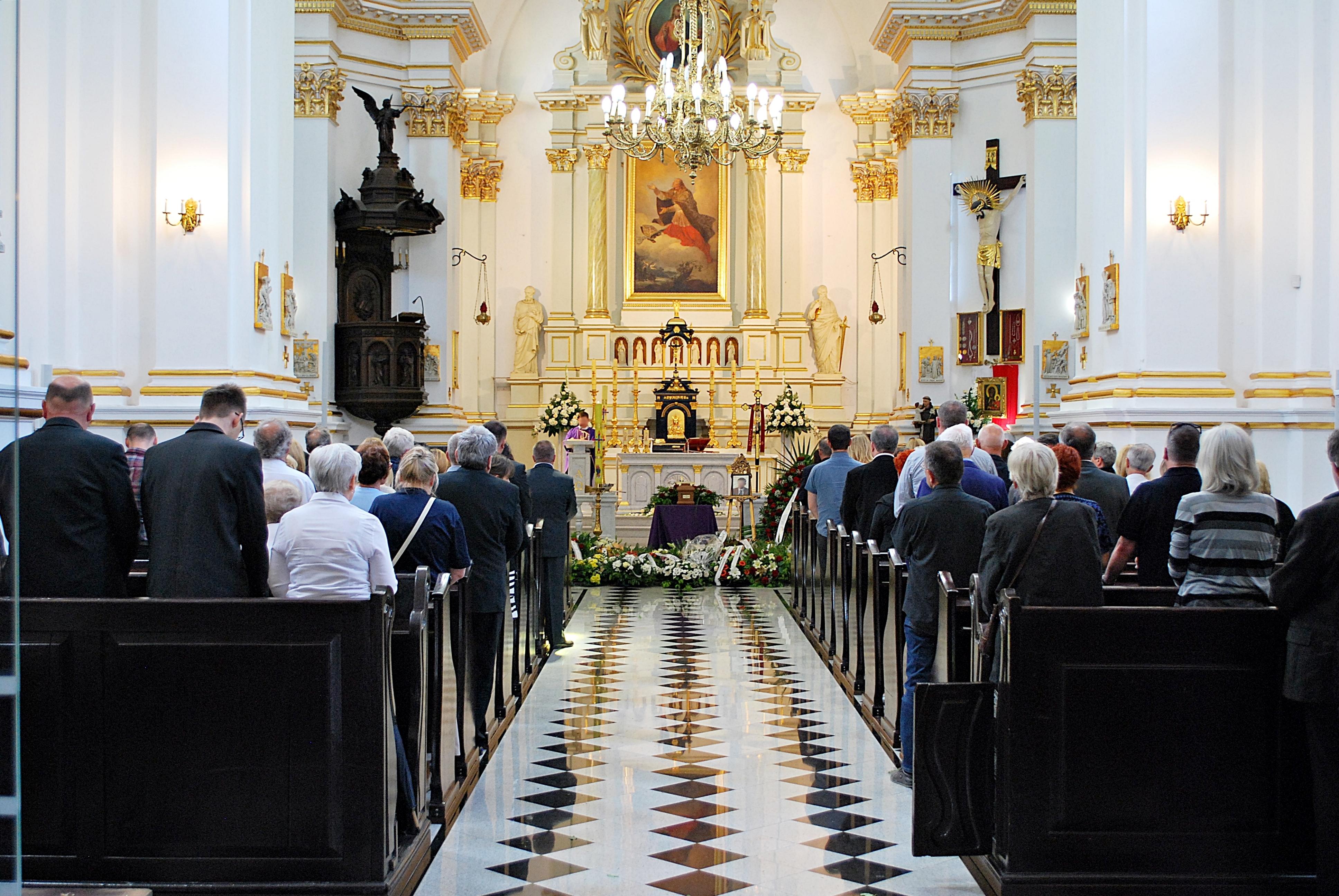 catholic chapel funeral