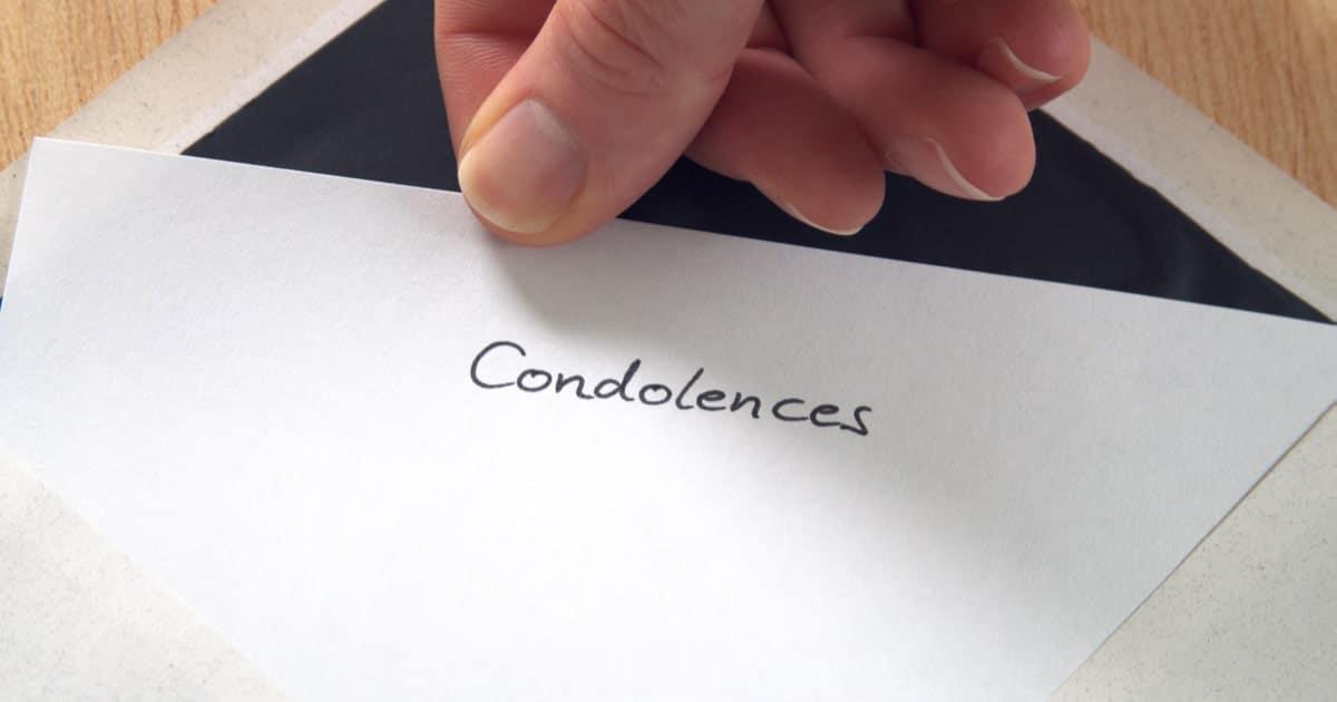 condolence quote