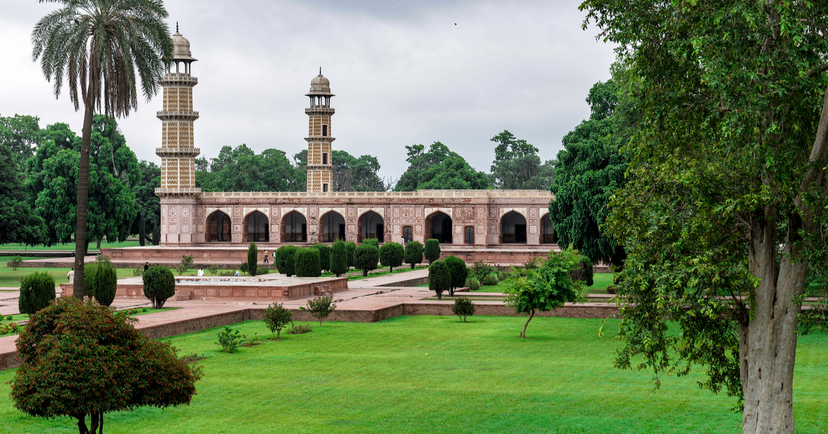 The Tomb of Jahangir