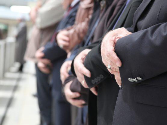 mens funeral attire