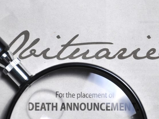 Obituary notice